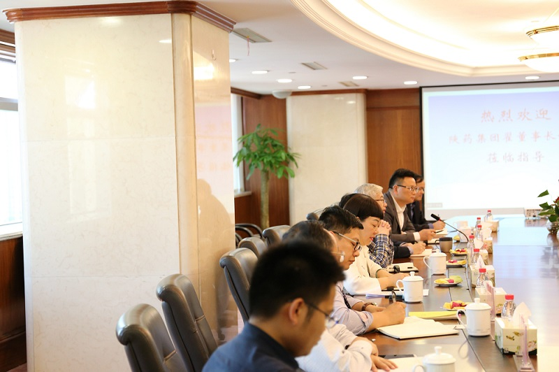 Shaanxi Pharmaceutical Group's Visit to Haixin